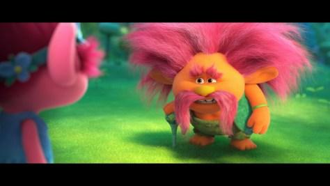 King Peppy, Trolls World Tour, Universal Pictures, Dreamworks Animation, Dentsu, Walt Dohrn