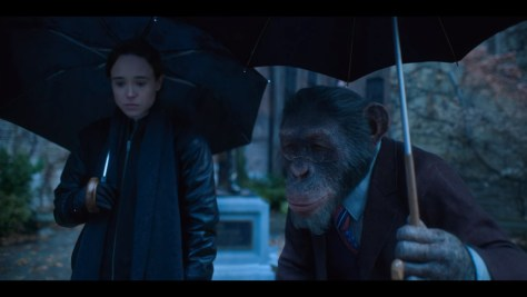 Pogo Hargreeves, The Umbrella Academy, Netflix, Universal Cable Productions, Dark Horse Entertainment, Adam Godley