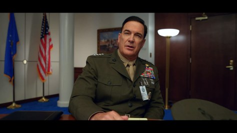 Commandant of the Marine Corps, Space Force, Netflix, Deedle-Dee Productions, Film Flam, 3 Arts Entertainment, Patrick Warburton