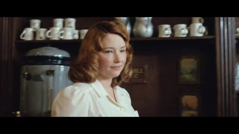 Charlotte Russell, The Devil All the Time, Netflix, Nine Stories Productions, Haley Bennett