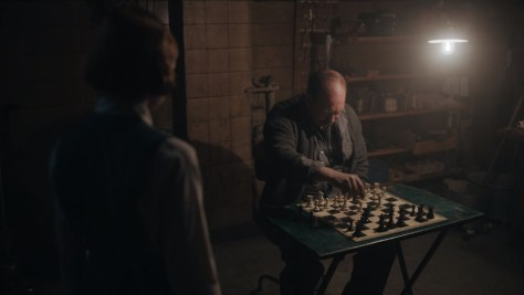 Mr. Shaibel, The Queen's Gambit, Netflix, Flitcraft, Wonderful Films, Bill Camp
