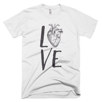 Love Heart Light T-Shirt