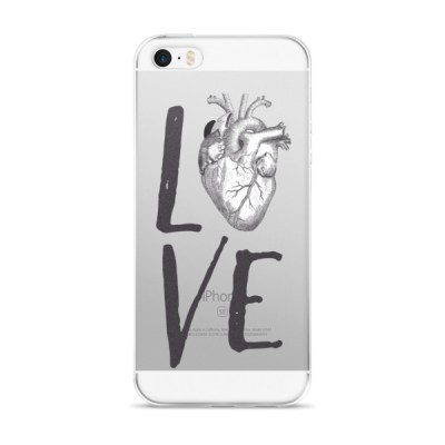 LOVE HEART iPhone 5/5s/Se, 6/6s, 6/6s Plus Case