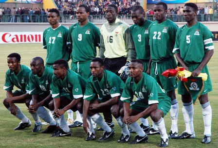 Zambia National Team - Chipolopolo ...