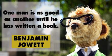 Benjamin Jowett inspirational quote
