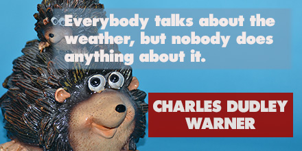 Charles Dudley Warner inspirational quote