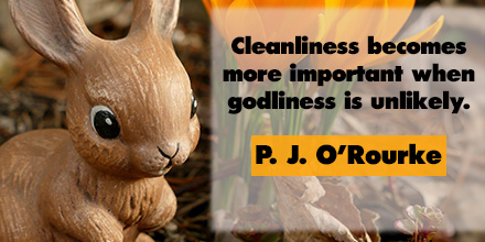 PJ O'Rourke inspirational quote