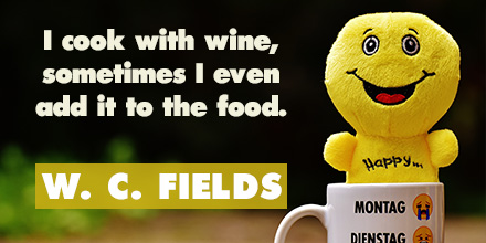 WC Fields inspirational quote