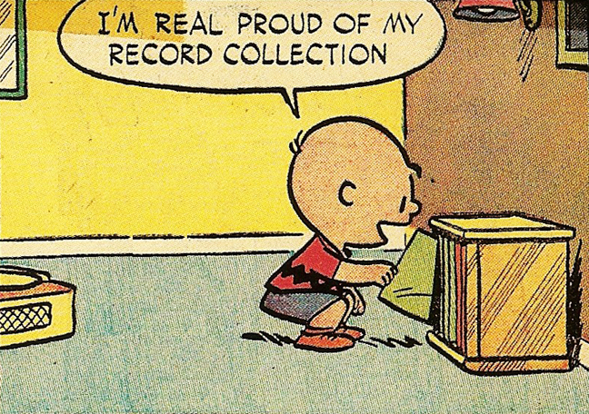 charlie-brown-record-collection
