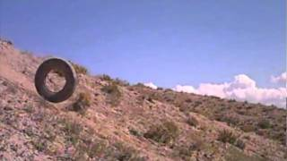 tire-on-hill