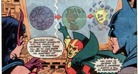 Justice League 184 Batman Huntress Miracle crazy plan
