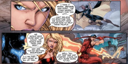 Teen Titans 16 wonder girl arsenal solstice