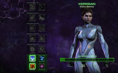 Starcraft II Heart of the Swarm kerrigan powers