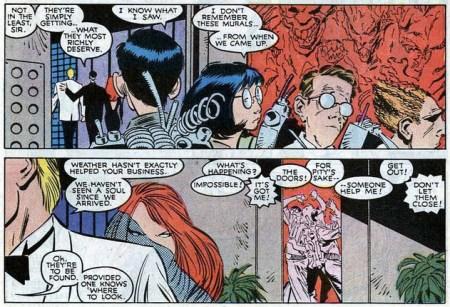Uncanny X-Men 240 ghostbusters