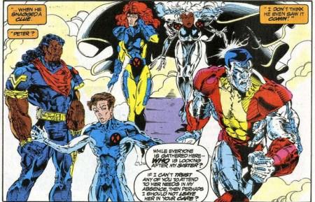 Uncanny X-Men 303 colossus