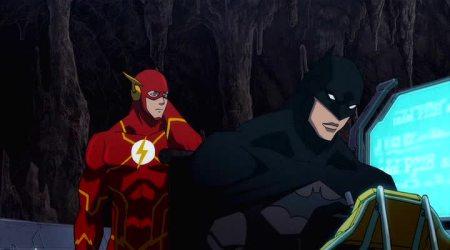 Flashpoint Paradox Flash Batman