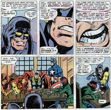 Avengers 213 Pym desgraciado