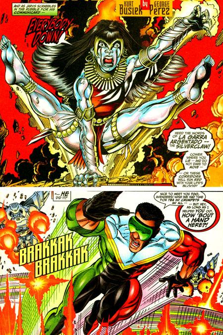 Avengers_busiek_perez_silverclaw_triathlon