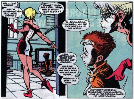 New Mutants Summer Special Mutante en Megalopolis