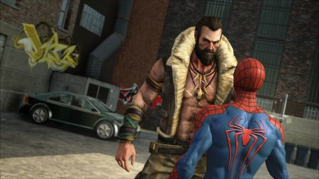 Amazing Spider-Man 2 game Kraven