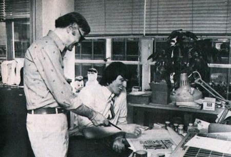 Jim Shooter y Stan Lee