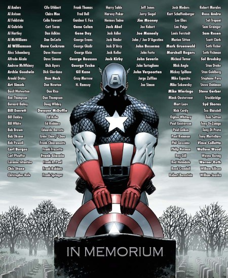 Marvel 75th Anniversary Celebration -in-memoriam