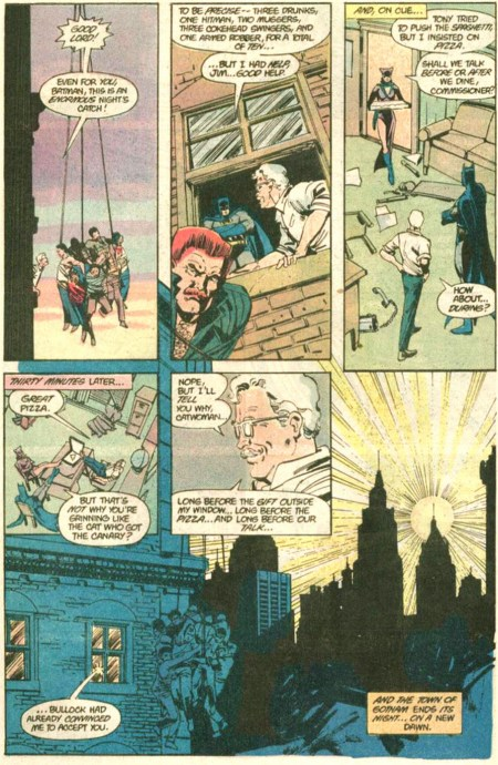 BATMAN 392 gordon catwoman