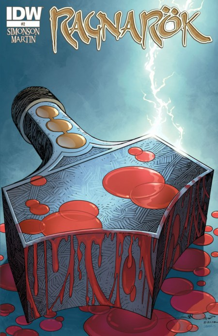 RAGNAROK #2 Walter Simonson Thor