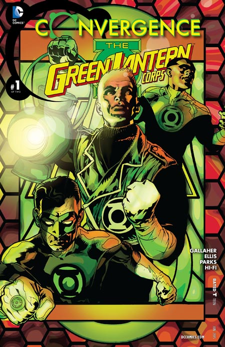 Convergence - Green Lantern Corps