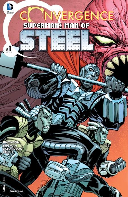 Convergence- Superman - Man of Steel
