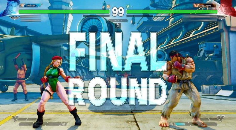 Street Fighter V Cammy VS Ryu 6