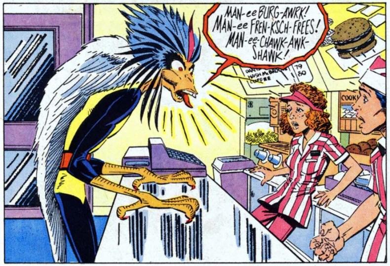 BirdBrain Cabeza de Chorlito New Mutants 58
