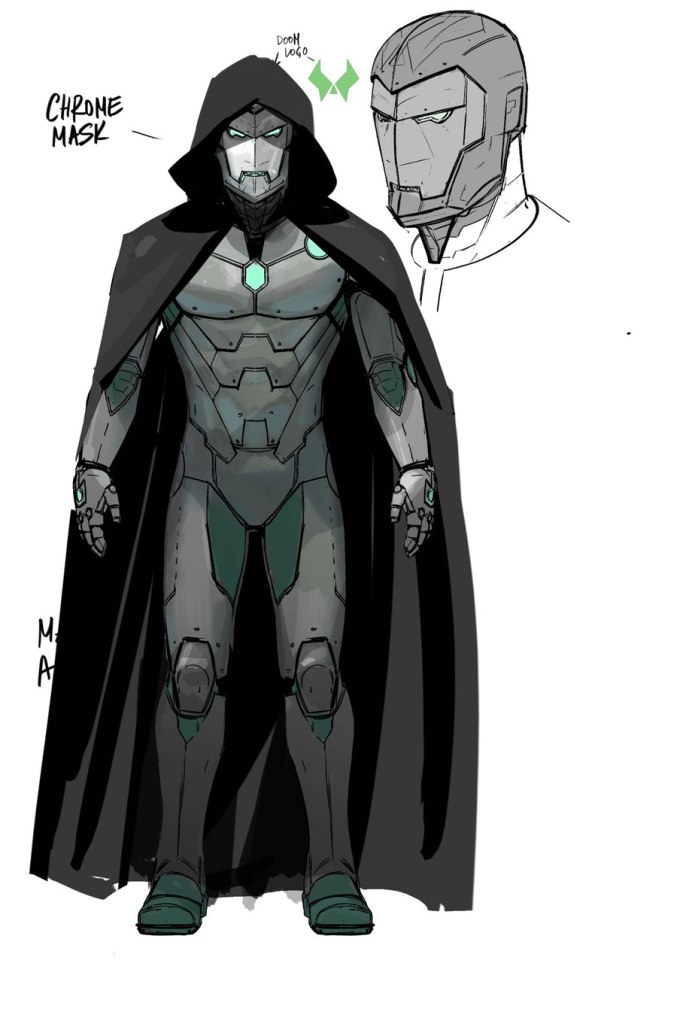 INFAMOUS IRON MAN concept doctor doom