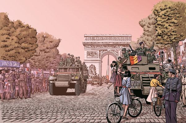 los-surcos-del-azar-paco-roca-delacourt-la-nueve-republicanos-paris-portada-francesa