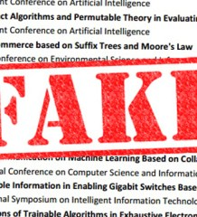 fake articles in science journals