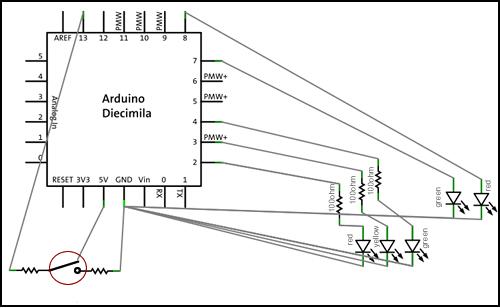 Arduino Traffic Lights - Take Two (2/3)