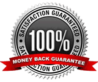 60 Day, 100 Percent Money Back Guarantee