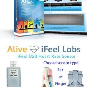 Student HRV Biofeedback Alive System with USB Sensor