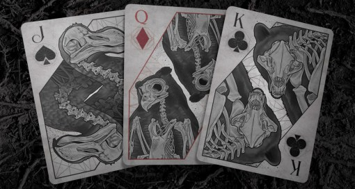 Bones Playing Cards - Dust Edition (pre-order)