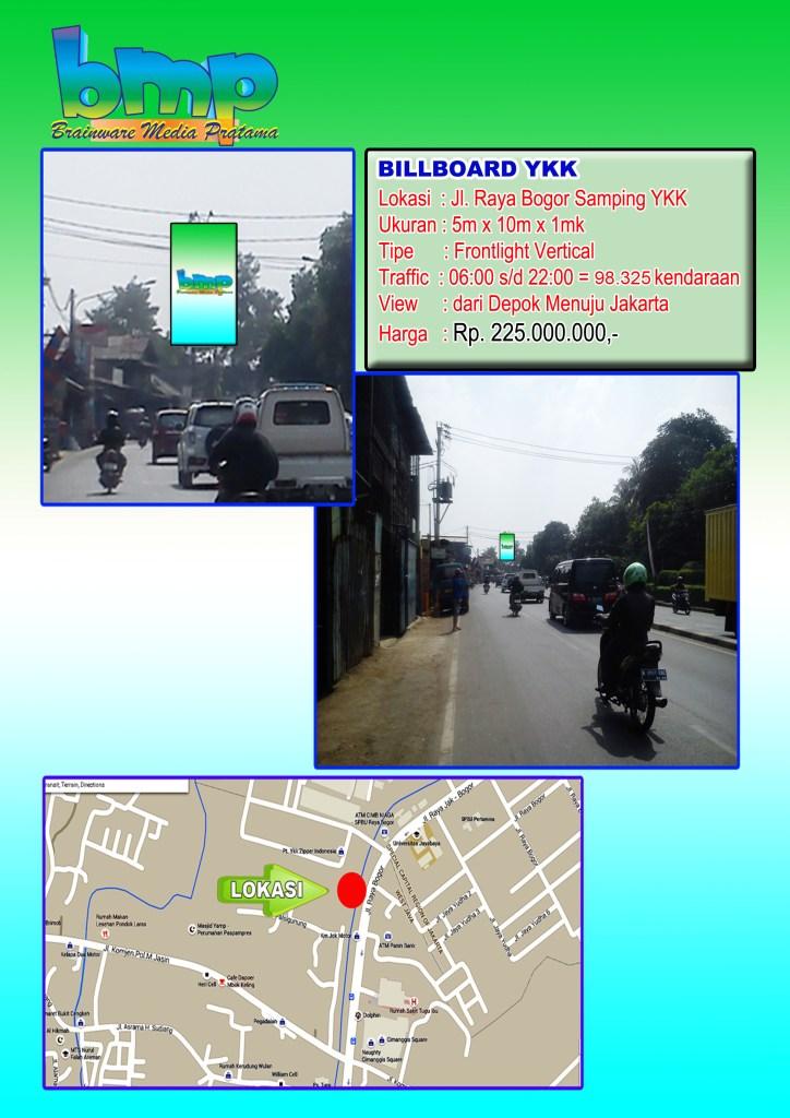 YKK Raya Bogor 5x10 Depokk-Jkt