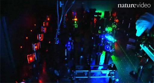 Xiaowei Zhuang's laser rig for STORM imaging