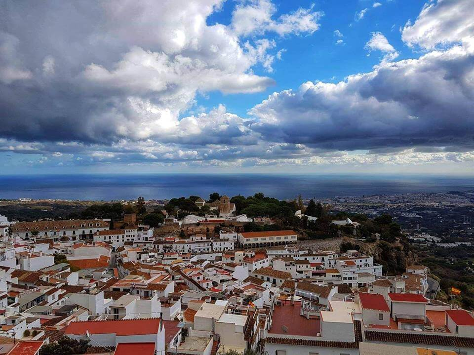 View over Mijas Pueblo