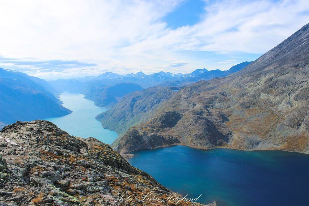 The views from Besseggen ridge - one of the best hikes in Norway