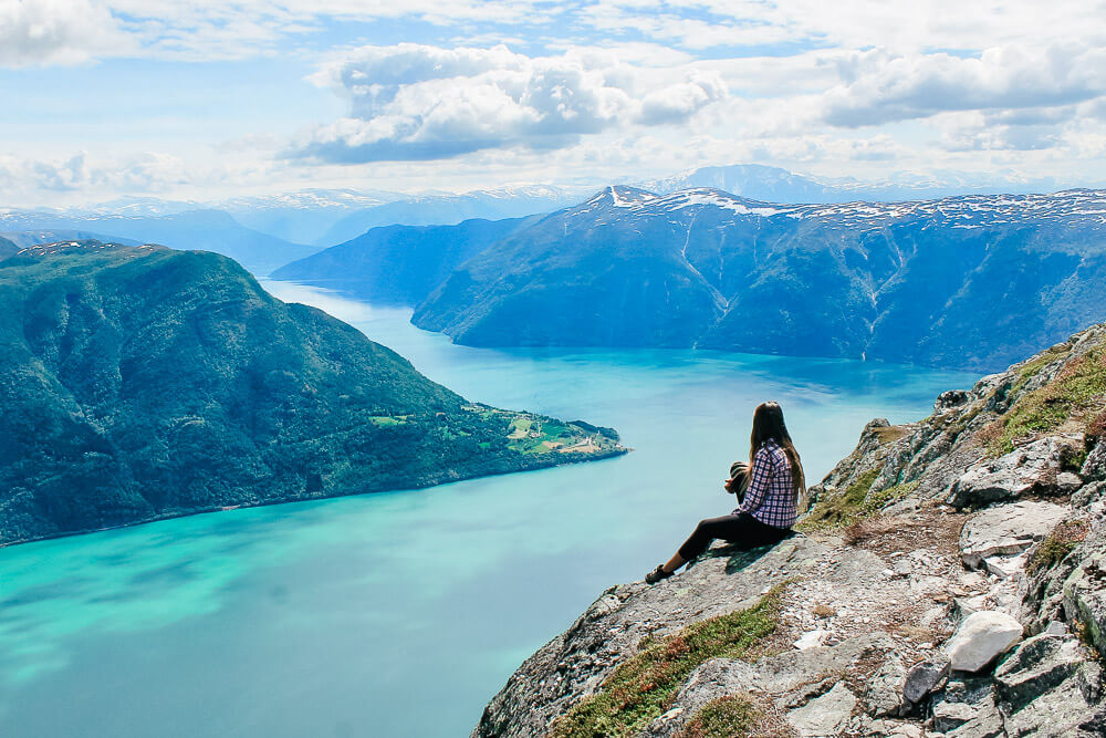 Molden is one of the best hiking trails in Norway
