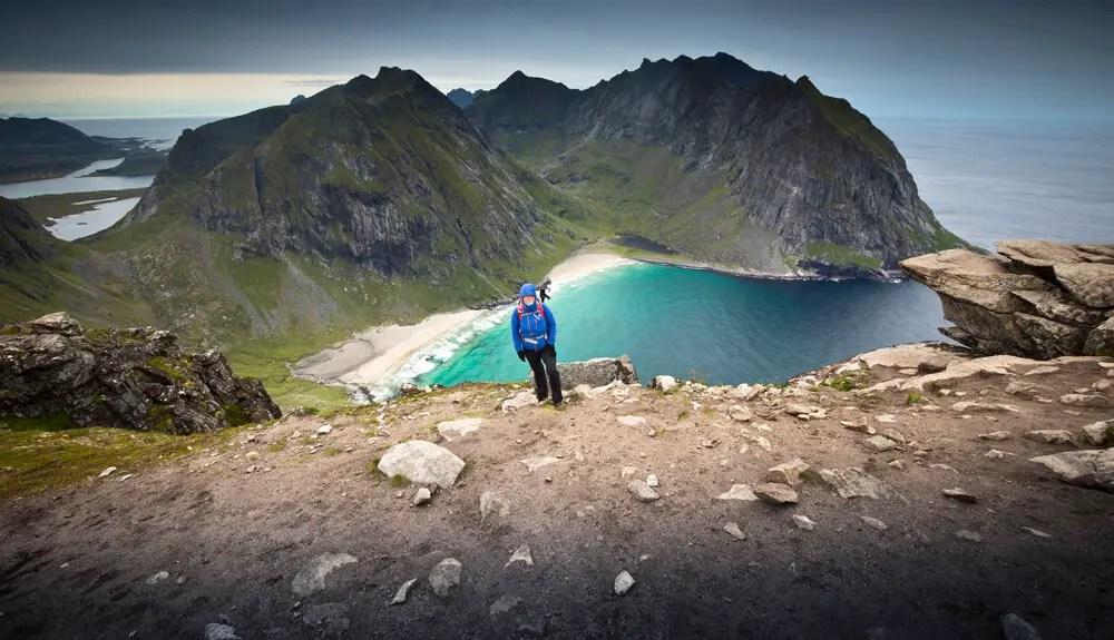 Rytn and Kalvika beach hike in Norway