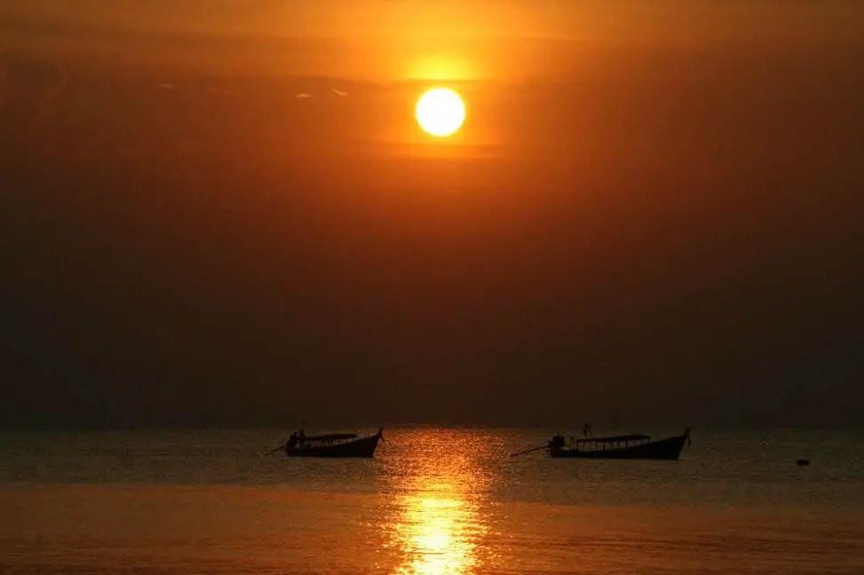 Sunset at Ko Chang (Andaman Coast)