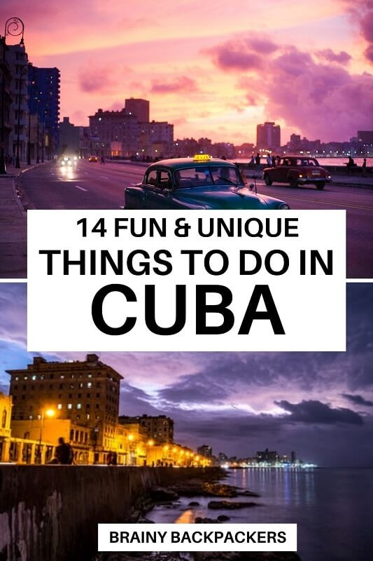 Are you looking for fun and unique things to do in Cuba? This is a complete Cuba travel guide with all you need to know to travel to Cuba. Top things to do in Cuba from nature, cities, and cultural experiences. #traveltips #responsibletourism #brainybackpackers #caribbean #cuba #travel #independenttravel