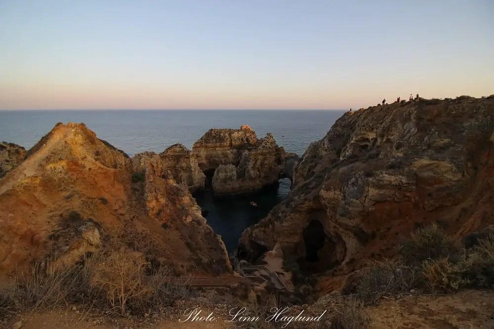Ponta da Piedade at sunset