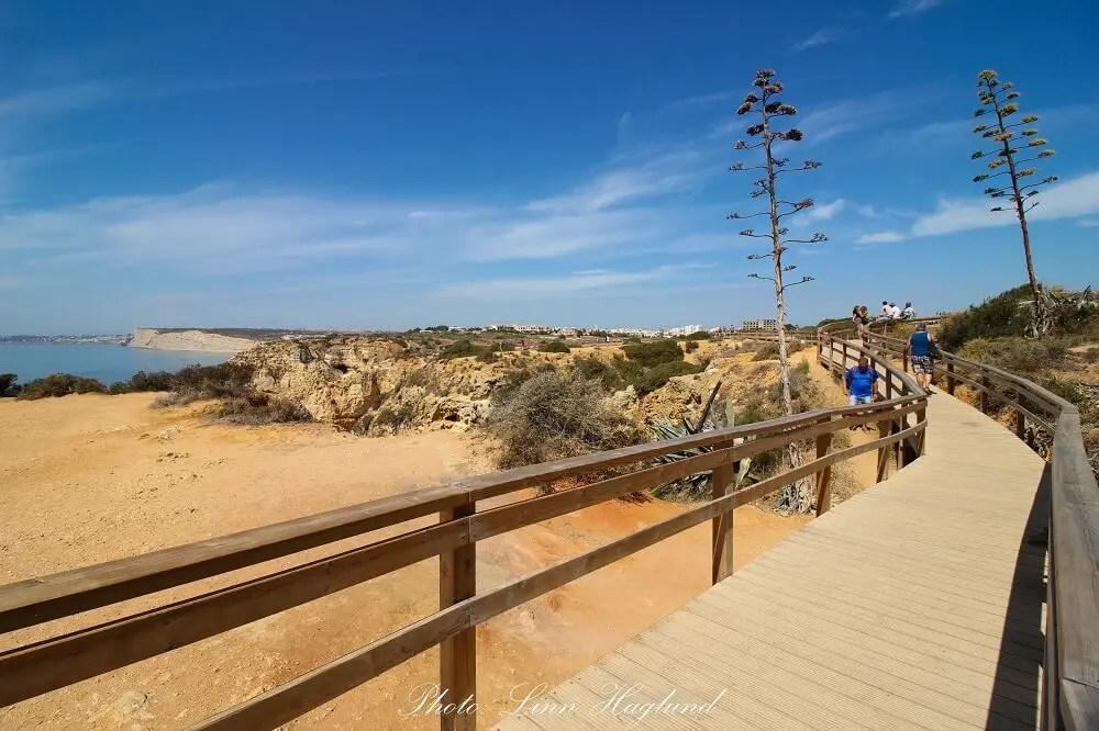The boardwalk from Ponta da Piedade