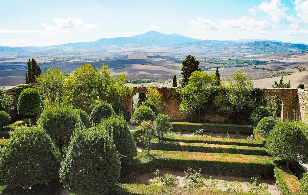Pienza is one of the best towns in Tuscany